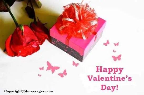 Happy valentines sms