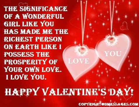 Valentine quotes for her