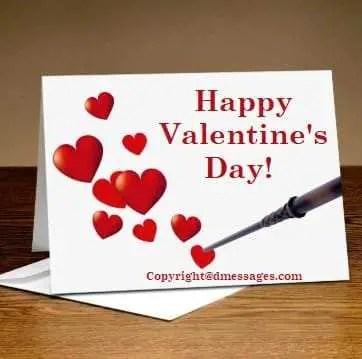 Valentine sms for boyfriend