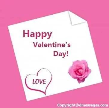 Valentine sms for girlfriend