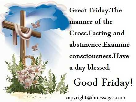 easter good friday wishes