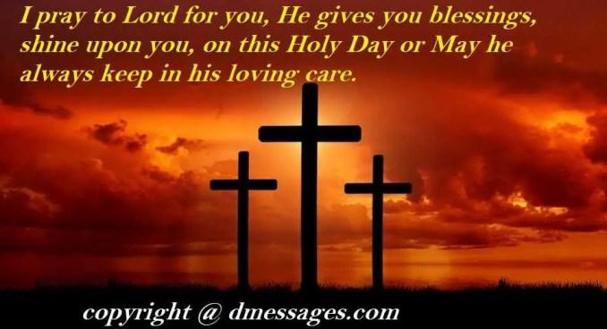 good friday greetings catholic