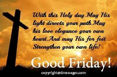 happy good friday wishes in english
