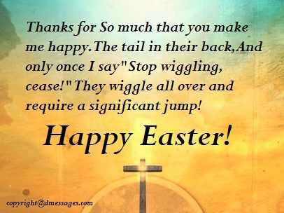 wishes for easter