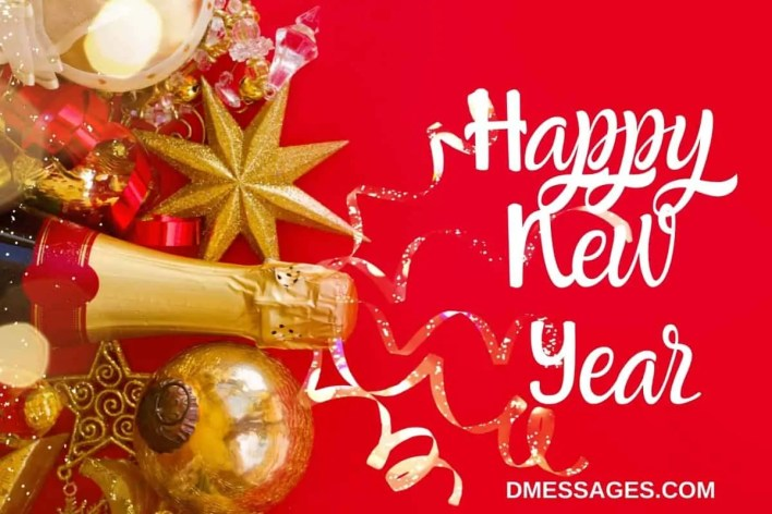 Happy New Year Wishes for Facebook