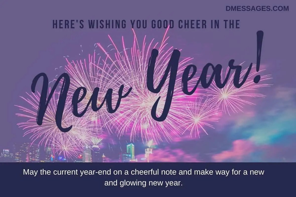 300+ Happy New Year Wishes for Friends and Family - New ...