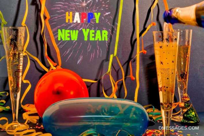 Happy New year Wishes for Team Members