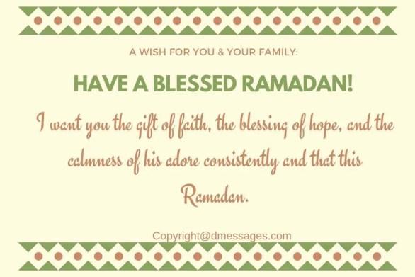 awesome text saying ramadan