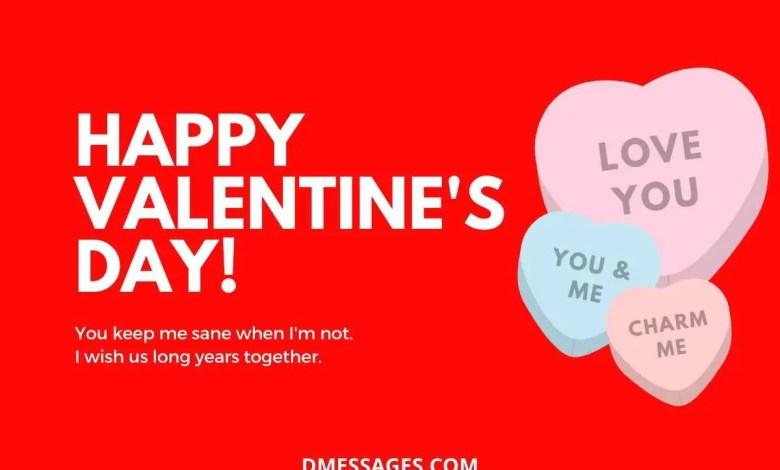 Happy Valentines day SMS