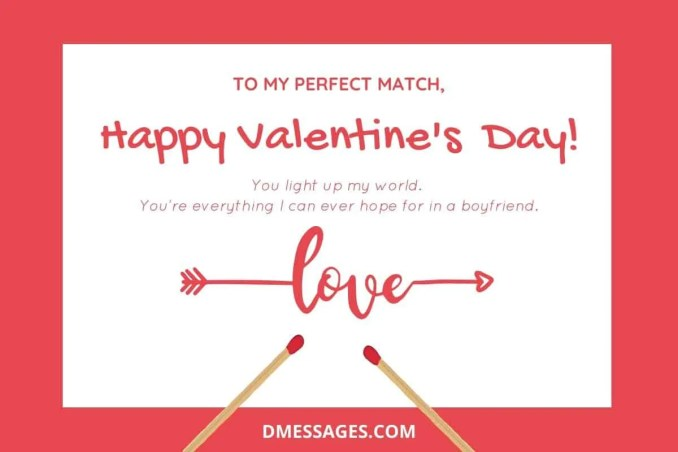 Happy valentines day romantic wishes