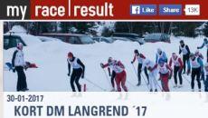 Her finder du resultater fra mandagens konkurrencehttp://www.dmlangrend.dk/2017-2