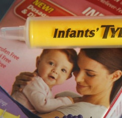 Bottle Design Problems Cause Infant Tylenol Recall
