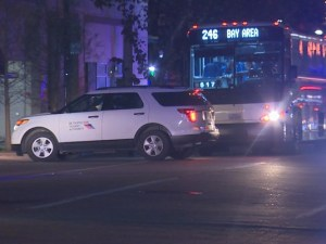 Houston Bus Kills Walker