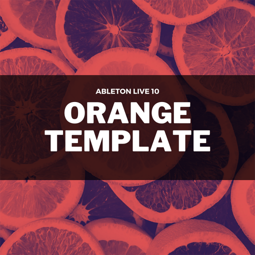 David Moleon - Orange / Techno / Ableton Live 10 Template