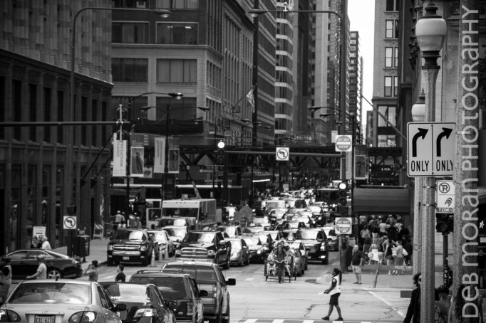 Chicago Afternoon Traffic