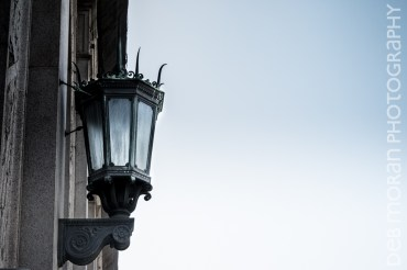 Sconce Outside the Post Office