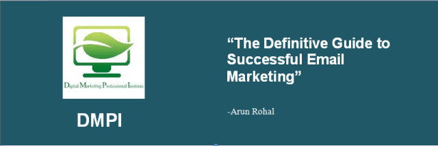 article-1 Definitive Guide to Successfull Email Marketing by Arun Rohal