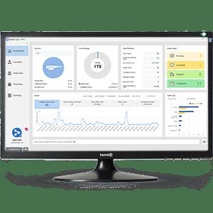 interface du logiciel médit link