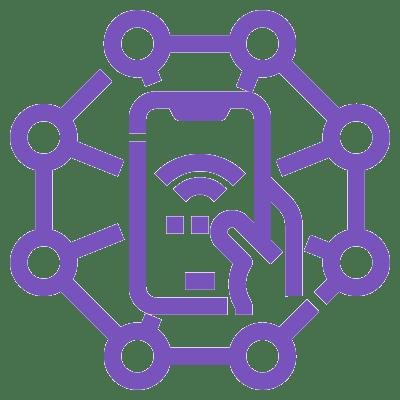 pictogramme internet et téléphonie