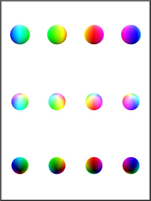 La esfera correspondiente a los discos anteriores.
