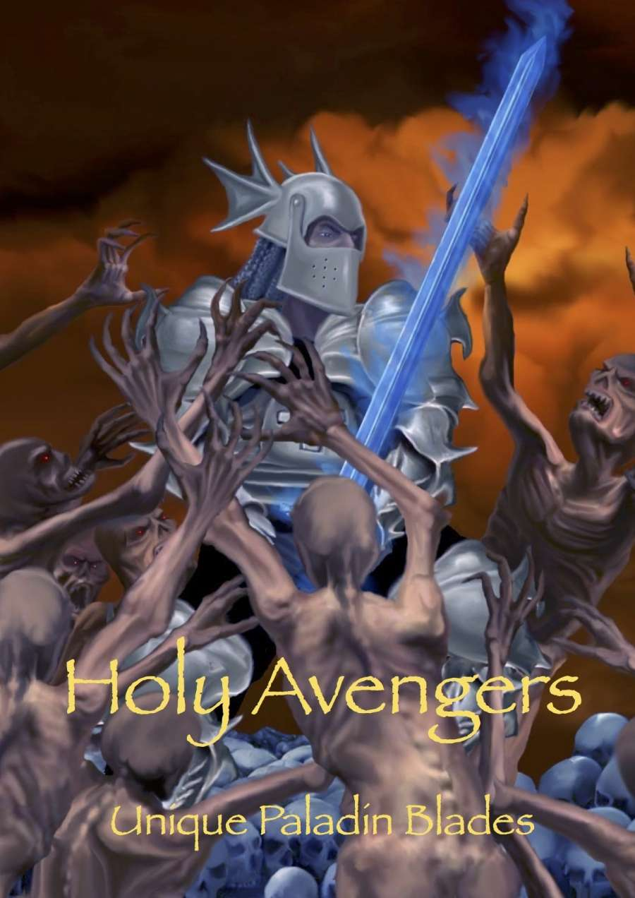 Holy Avengers Unique Paladin Blades Dungeon Masters