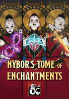 Nybor's Tome of Enchantments – magic items, item cards, and enchanting rules for 5E