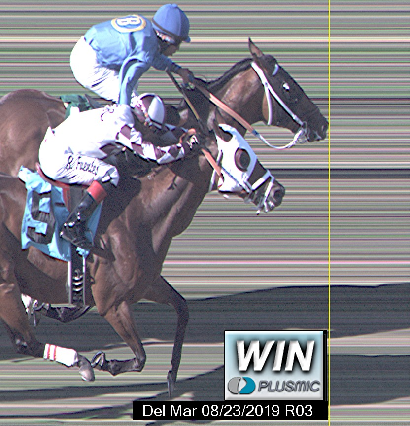 Del Mar Photo Finishes For Aug 23 2019