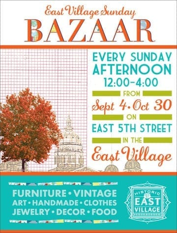 East Village Sunday Bazaar