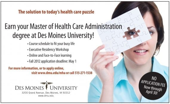 Des Moines University MHA program