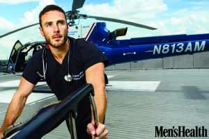 "Ballard, an assistant professor of emergency medicine in the Medical College of Georgia at Augusta University, received the title, during NBC's ""Today"" show  on Oct. 6, in the magazine's third annual nationwide Ultimate Guy Search. That put him on the cover of the magazine's November issue."