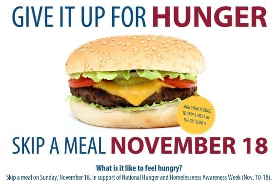 National Hunger and Homelessness Awareness Week 2012