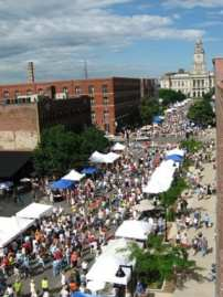 Downtown Des Moines farmers market