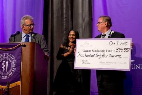 A record $344,552 was raised for the Glanton Minority Scholarship Fund this year.
