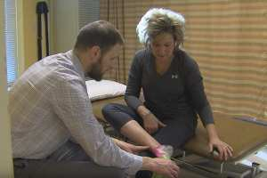 Shane McClinton, D.P.T. treats a chronic pain patient