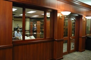 Kendall Reed Rare Book Room