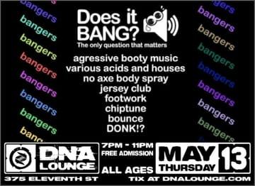 Does It Bang? Flyer