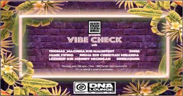 Vibe Check: Parklet Party Flyer