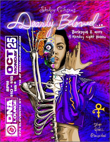 Monday Night Hubba: Shakey Gibson's Prince-o-Ween Flyer