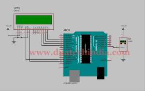 Tested Working Project Arduino Thermometer using LM35