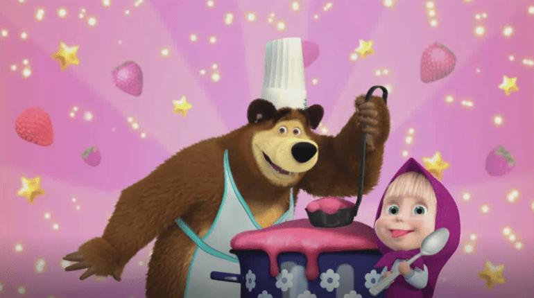 Masha e Orso giochi di cucina gratis