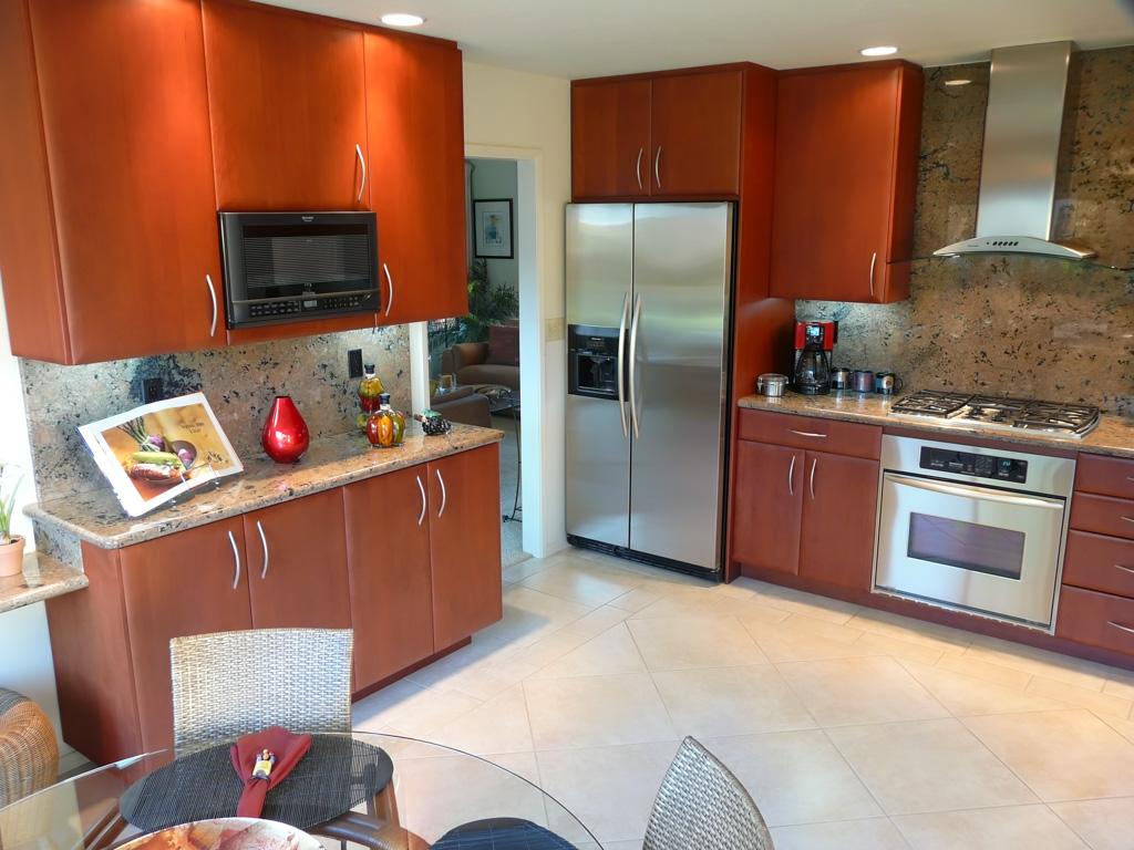Sleek Modern Red Cherry Kitchen Danilo Nesovic Designer Builder Kitchen Amp Bath Remodeling