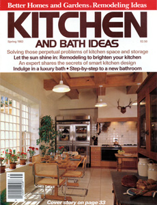 Kitchen & Bath Ideas 1983 Spring Issue Cover