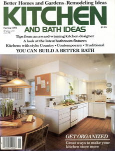 Kitchen & Bath Ideas 1984 Spring Issue Cover