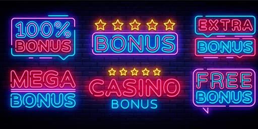 オンラインカジノの特典であるボーナス