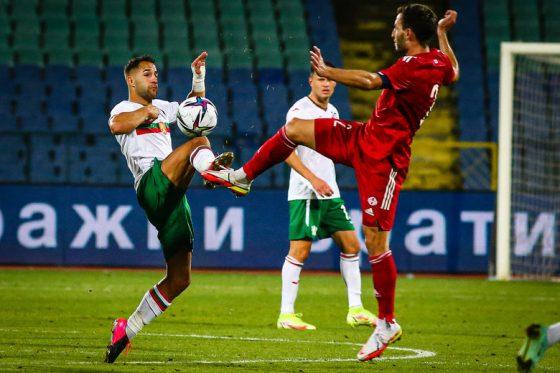 Националният отбор по футбол вкара четири гола за първи път от пет години