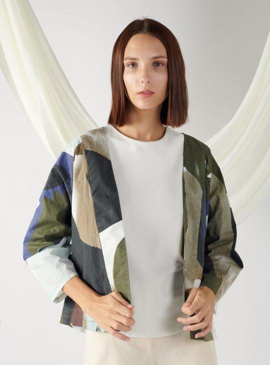 kimono-shape outerwear
