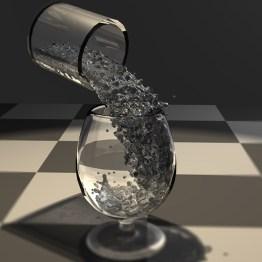 Partículas de Agua 3D