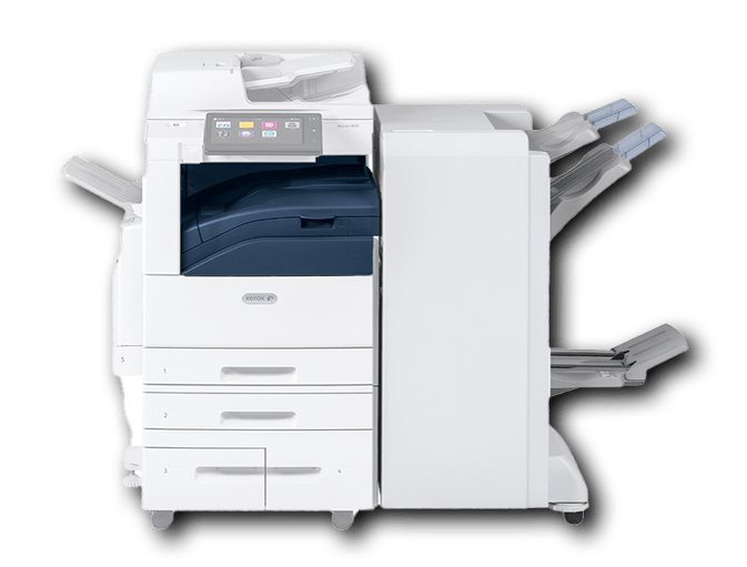 Xerox 3000 series with finisher