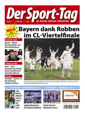 """Aus für Deutschlands Sporttageszeitung """"Der Sport-Tag"""""""