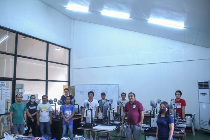 TUP-Visayas and Negros Women for Tomorrow Foundation Tapna Covid19 Initiative group photo.